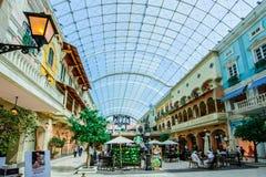 Mercato galleria, Dubai, UAE Royaltyfri Fotografi