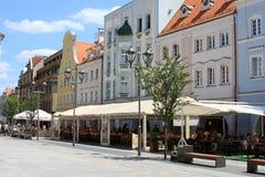 Mercato a Gliwice Fotografia Stock Libera da Diritti