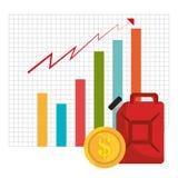 Mercato globale e borsa valori Immagini Stock