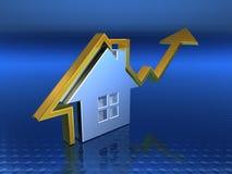 Mercato immobiliare Fotografie Stock