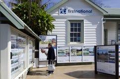 Mercato immobiliare della Nuova Zelanda Immagine Stock Libera da Diritti