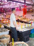 Mercato ittico a Chinatown in New York Fotografie Stock