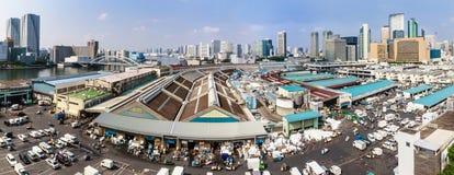 Mercato ittico di Tsujiki a Tokyo, Giappone Immagine Stock Libera da Diritti