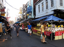 Mercato ittico di Tsukiji Immagine Stock
