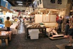 Mercato ittico, Giappone Fotografia Stock Libera da Diritti