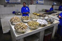 Mercato ittico a Sharjah fotografie stock libere da diritti