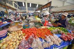 Mercato, Lampang, Tailandia immagine stock libera da diritti