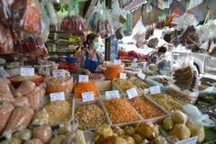 Mercato, Lampang, Tailandia fotografia stock