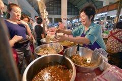 Mercato, Lampang, Tailandia fotografia stock libera da diritti