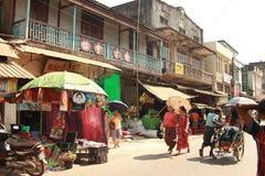 Mercato locale asiatico Immagine Stock Libera da Diritti