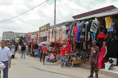 The Mercato market of Addis Ababa Stock Photo