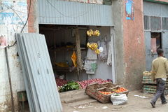 The Mercato market of Addis Ababa Stock Images
