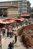 The Mercato market of Addis Ababa Stock Photos