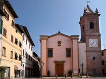 Mercato in Montaione Fotografia Stock