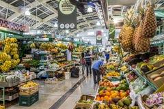 Mercato municipale di Curitibas Fotografie Stock