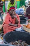Mercato nel Ghana fotografia stock libera da diritti