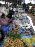 Mercato nel Perù Fotografie Stock Libere da Diritti