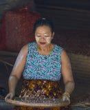 Mercato nello Stato Shan Myanmar Fotografia Stock Libera da Diritti