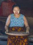 Mercato nello Stato Shan Myanmar Immagini Stock