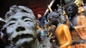 Mercato Pechino di Panjiayuan Fotografia Stock Libera da Diritti