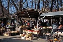 Mercato, Senta, Serbia Fotografia Stock Libera da Diritti