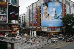 Mercato Shenzhen di Dongmen Fotografie Stock