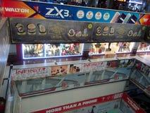 mercato shoping boshundhar fotografia stock libera da diritti