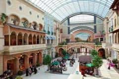 Mercato Shopping Mall of Dubai with Mediterranean Architecture Stock Image