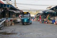 Mercato tailandese dei frutti di mare Fotografie Stock Libere da Diritti