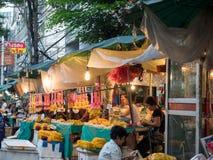 Mercato tailandese del fiore Immagine Stock Libera da Diritti