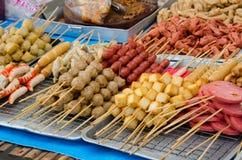 Mercato tailandese dell'alimento Immagini Stock Libere da Diritti