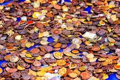 Mercato tailandese dell'amuleto sulla via Immagine Stock
