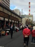 Mercato tradizionale dell'alimento a Tokyo Fotografia Stock Libera da Diritti