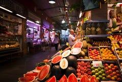 Mercato tradizionale di Triana in Siviglia, Spagna immagine stock libera da diritti
