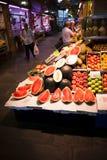 Mercato tradizionale di Triana in Siviglia, Spagna fotografie stock