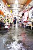Mercato tradizionale di Triana in Siviglia, Spagna immagini stock