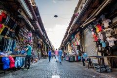 Mercato turco a Costantinopoli Immagini Stock Libere da Diritti