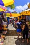 Mercato turistico in Ubud Fotografia Stock Libera da Diritti