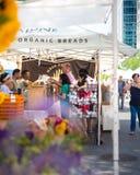 Mercato Union Square NYC degli agricoltori di Greenmarket Fotografia Stock