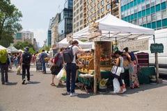 Mercato Union Square NYC degli agricoltori di Greenmarket Immagine Stock Libera da Diritti