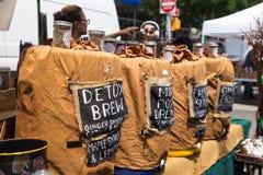 Mercato Union Square NYC degli agricoltori di Greenmarket Immagini Stock Libere da Diritti