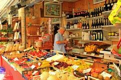 Mercato, Venezia, Italia Fotografie Stock Libere da Diritti