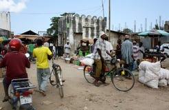 mercato zanzibar Immagine Stock