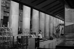 Mercatodella Boqueria, Barcellona Royalty-vrije Stock Foto