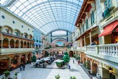 Mercatowandelgalerij, Doubai, de V.A.E Stock Foto's