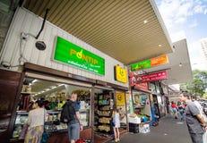 Mercearia tailandesa da cidade em Campbell Street Fotografia de Stock