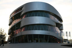 Mercecds benz museum building Stock Photos