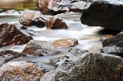 merced речная вода движения Стоковая Фотография RF