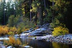 merced flod Arkivfoton