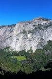 Merced flod från denmil slingan, Yosemite, Yosemite nationalpark Royaltyfria Bilder